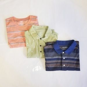 NWT George & Daniel Cremieux Polo Shirts Large